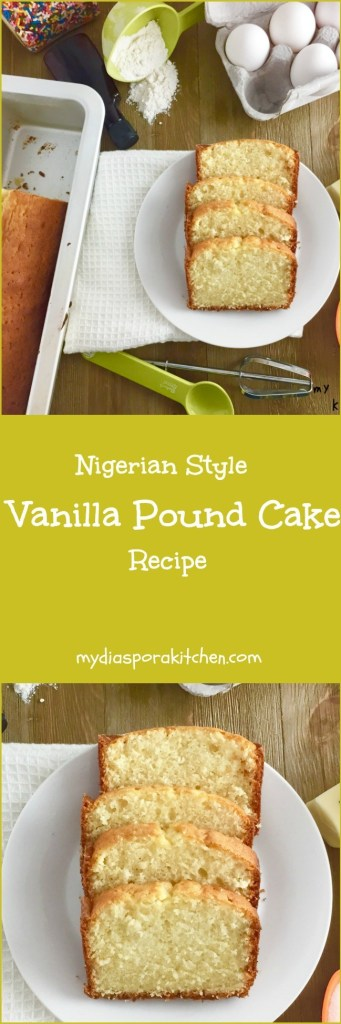 Nigerian Pound Cake