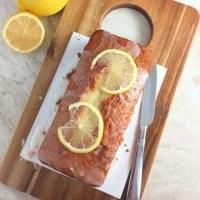 Easy Lemon Loaf Cake + a giveaway