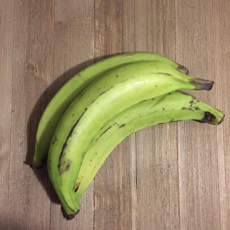 Pekere: unripe plantain chips
