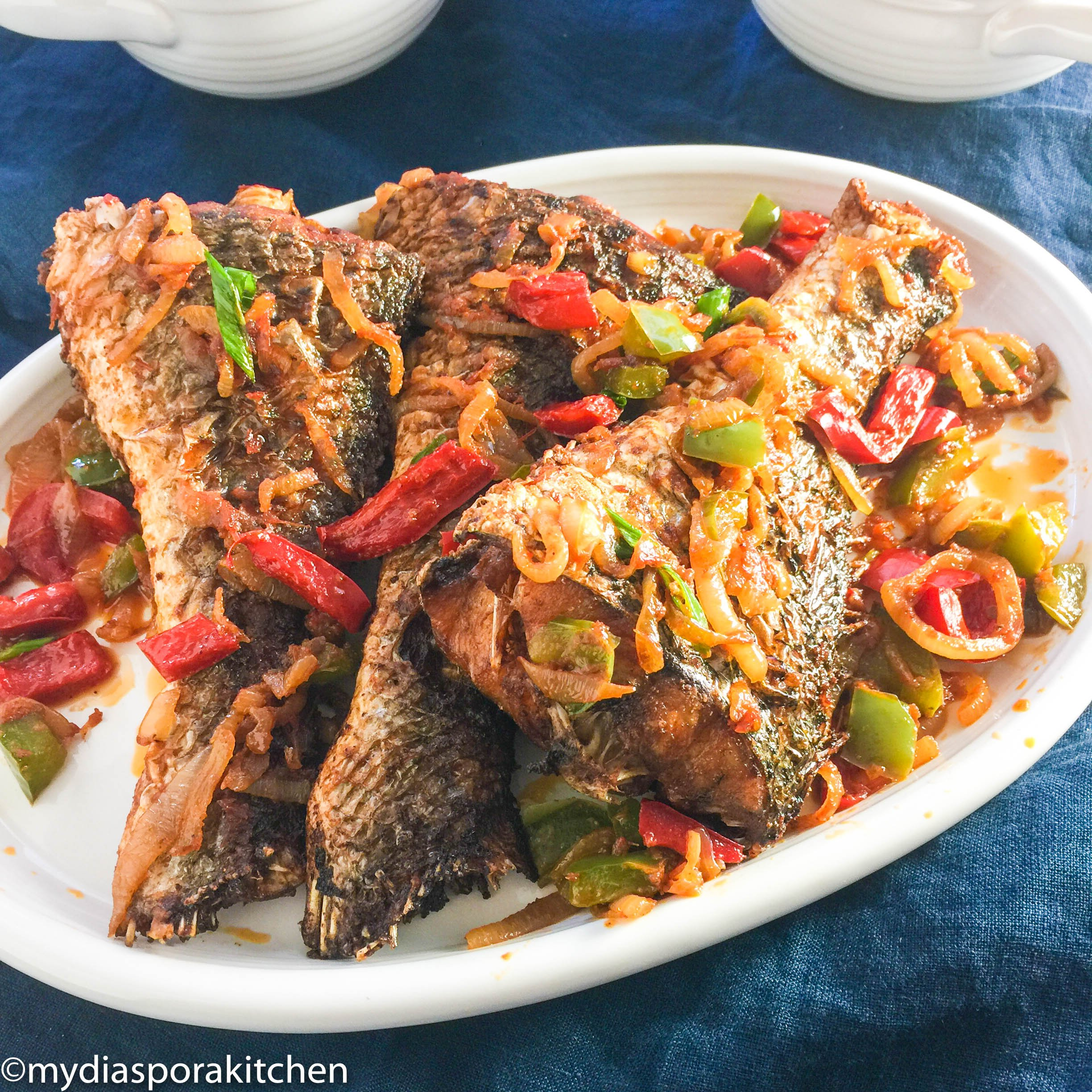 Image result for delicious peppered fish