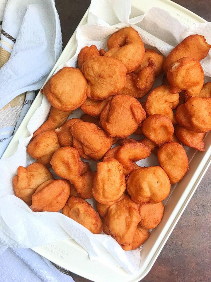 Akara Balls; African black eyed peas fritters