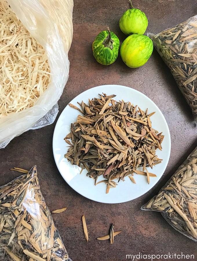Fermenting Ugba/Ukpaka  (African Oil bean seed)
