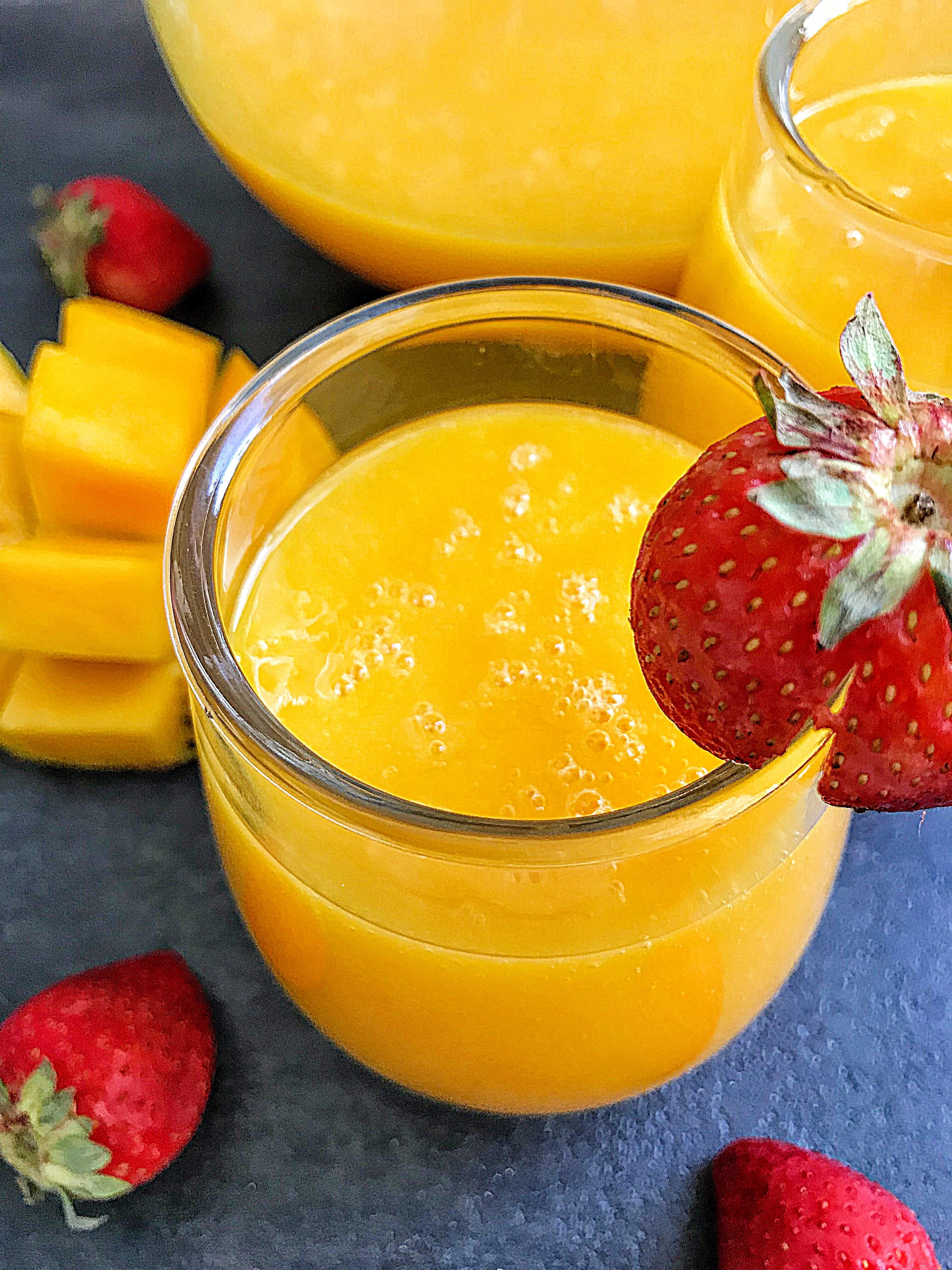 Velvety Smooth Mango Juice My Diaspora Kitchen