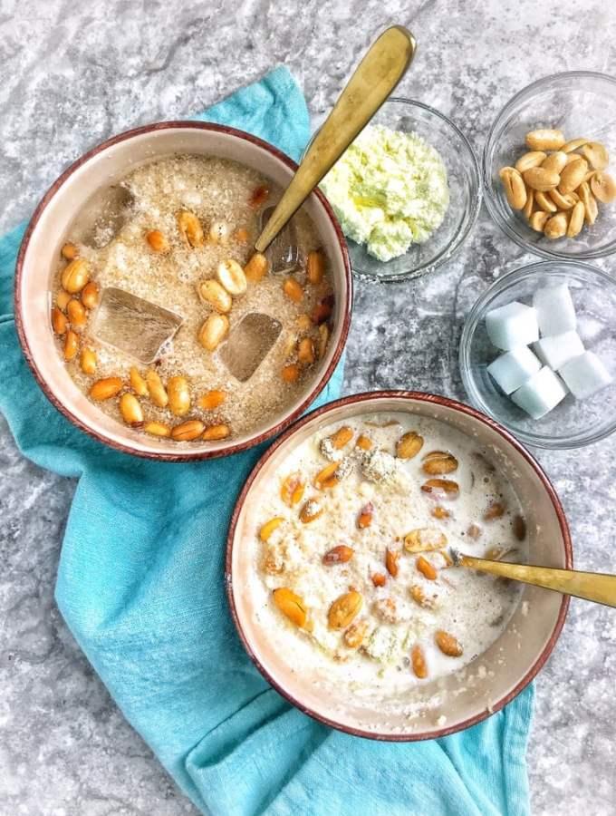Soaked Garri: Nigeria's Legendary 'cereal'