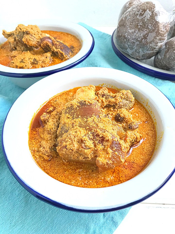 Egusi Ijebu Egusi Soup Without Vegetables My Diaspora Kitchen