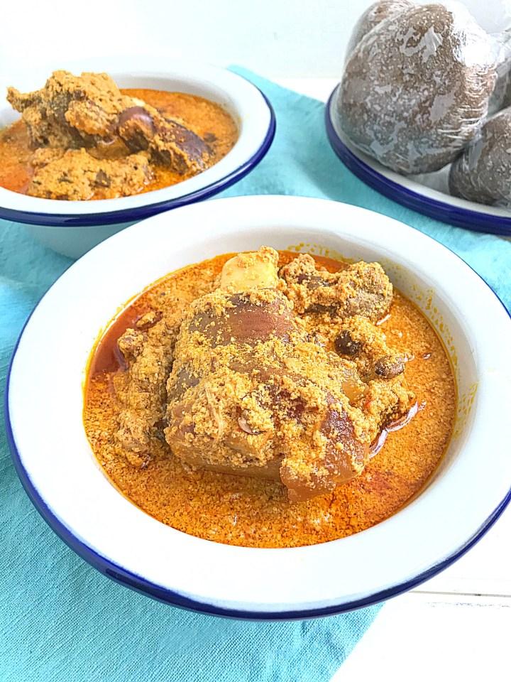Egusi Ijebu Egusi Soup Without Vegetables My Diaspora Kitchen
