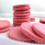 stacked strawberry lemonade cookies
