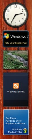 Windows 7 Sidebar