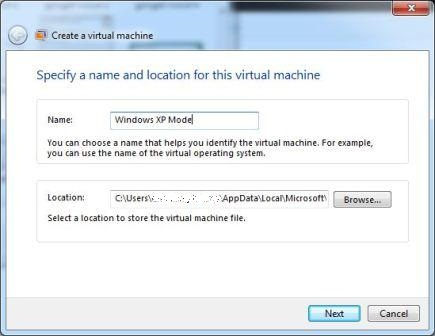 Virtual Machine Name
