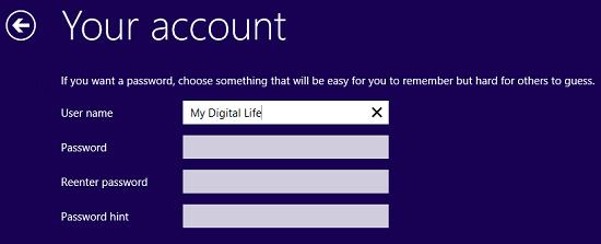 Create Local Account When Installing Windows 10 / 8.1 / 8