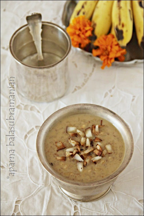 Parippu Pradhaman – South Indian Style Lentil, Coconut Milk And Jaggery Pudding