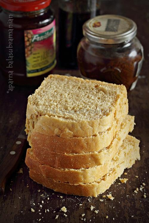 Anadama Bread Slices