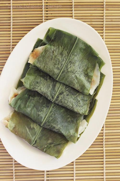 Steam cooked Elai Adai Patolyo
