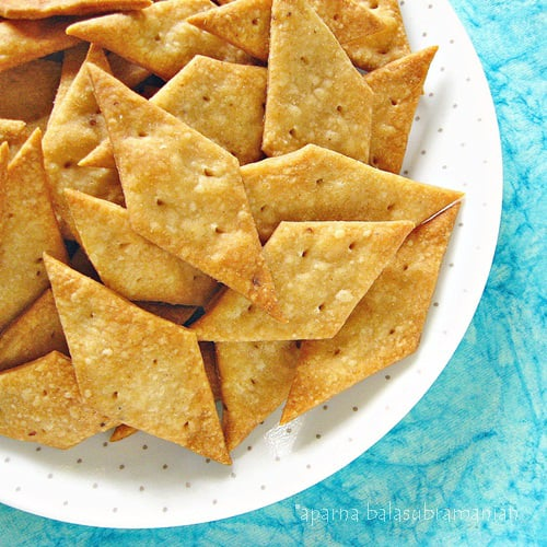 Namakpare a savoury indian snack the baked version recipe my this is a recipe i found inside a pack of lemongrass tea which was gifted to me it is a sanjeev kapoor recipe and what caught my eye was that it was forumfinder Image collections