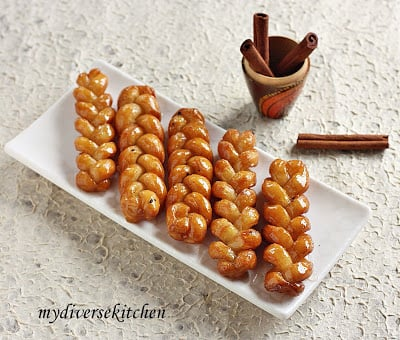 Koeksisters south african deep fried and sugar coated for African cuisine desserts
