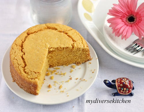 Egg Free Custard Powder Snack Cake