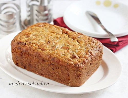 Tartine's Zucchini And Orange Marmalade Tea Loaf – Egg Free Version