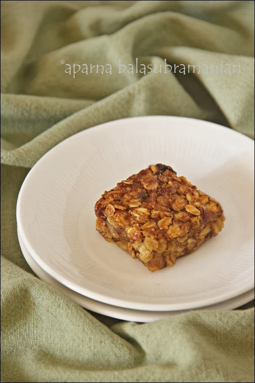 Naturally Sweet & Gluten-Free : A Review, A Giveaway & Banana Oat Bars (GF, Diary-free, No Butter or Egg)
