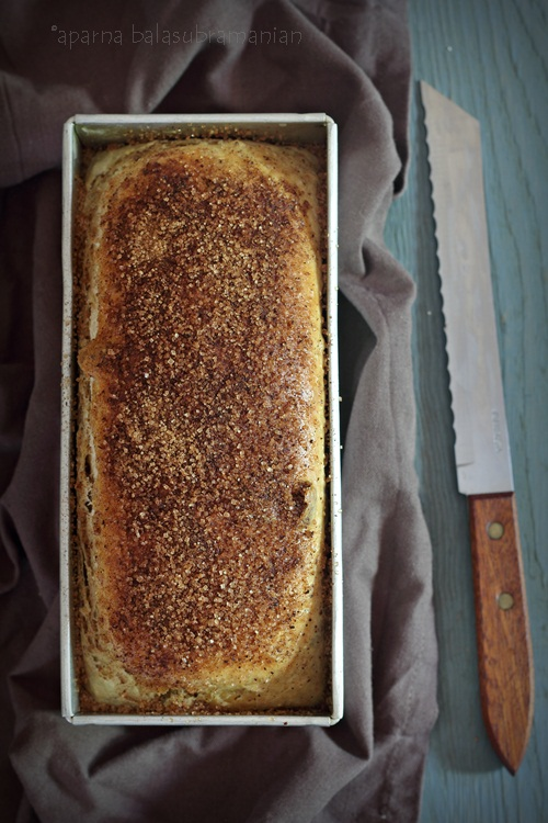 Raisin Cinnamon Struan Loaf