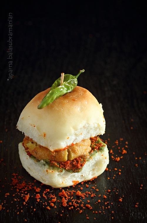 Vada Pav – Potato Fritters in a Bun