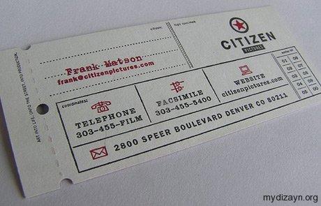 Bilet Kartvizit