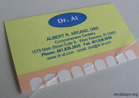 Diş Hekimi Kartviziti