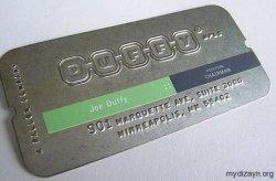 Metal Kartvizit