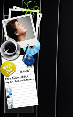 twitter free background psd 1