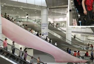 gillette-escalator-ad
