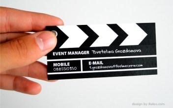 Yapımcı / Yönetmen için Kartvizit