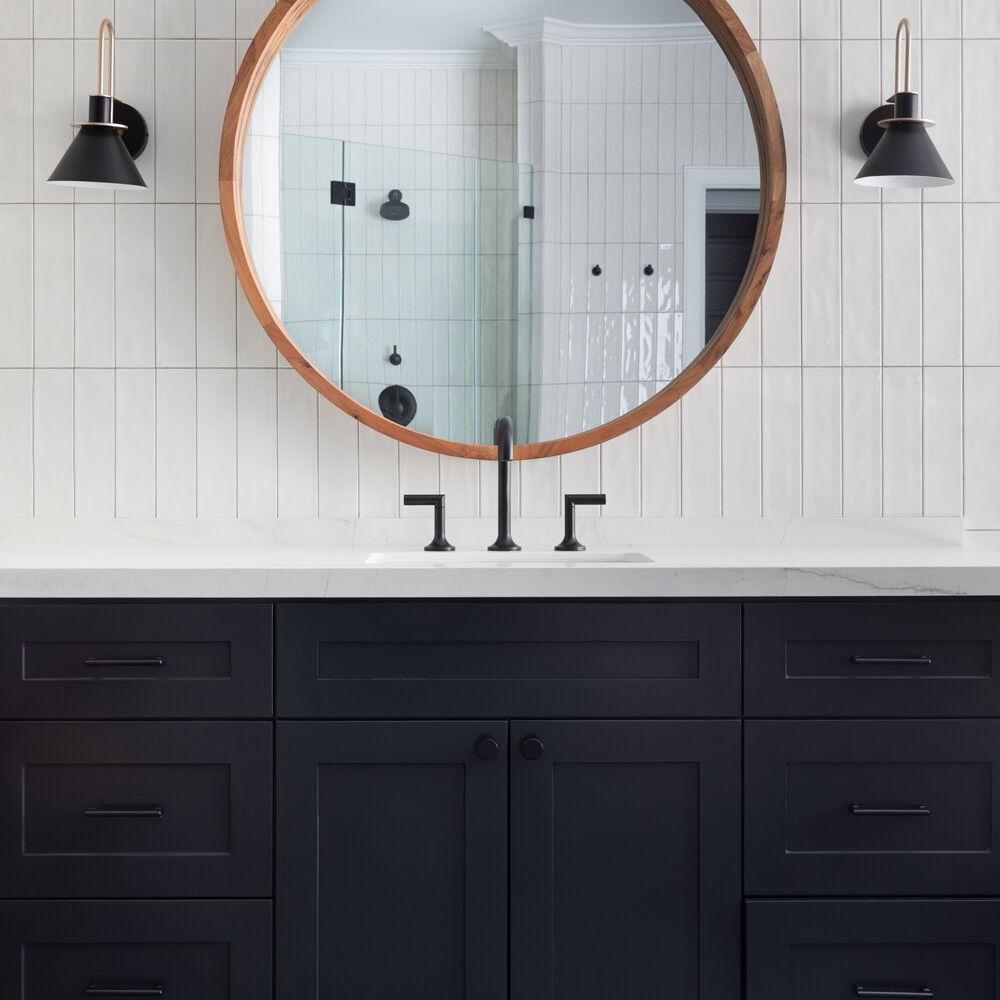50 tiled bathrooms that make a striking