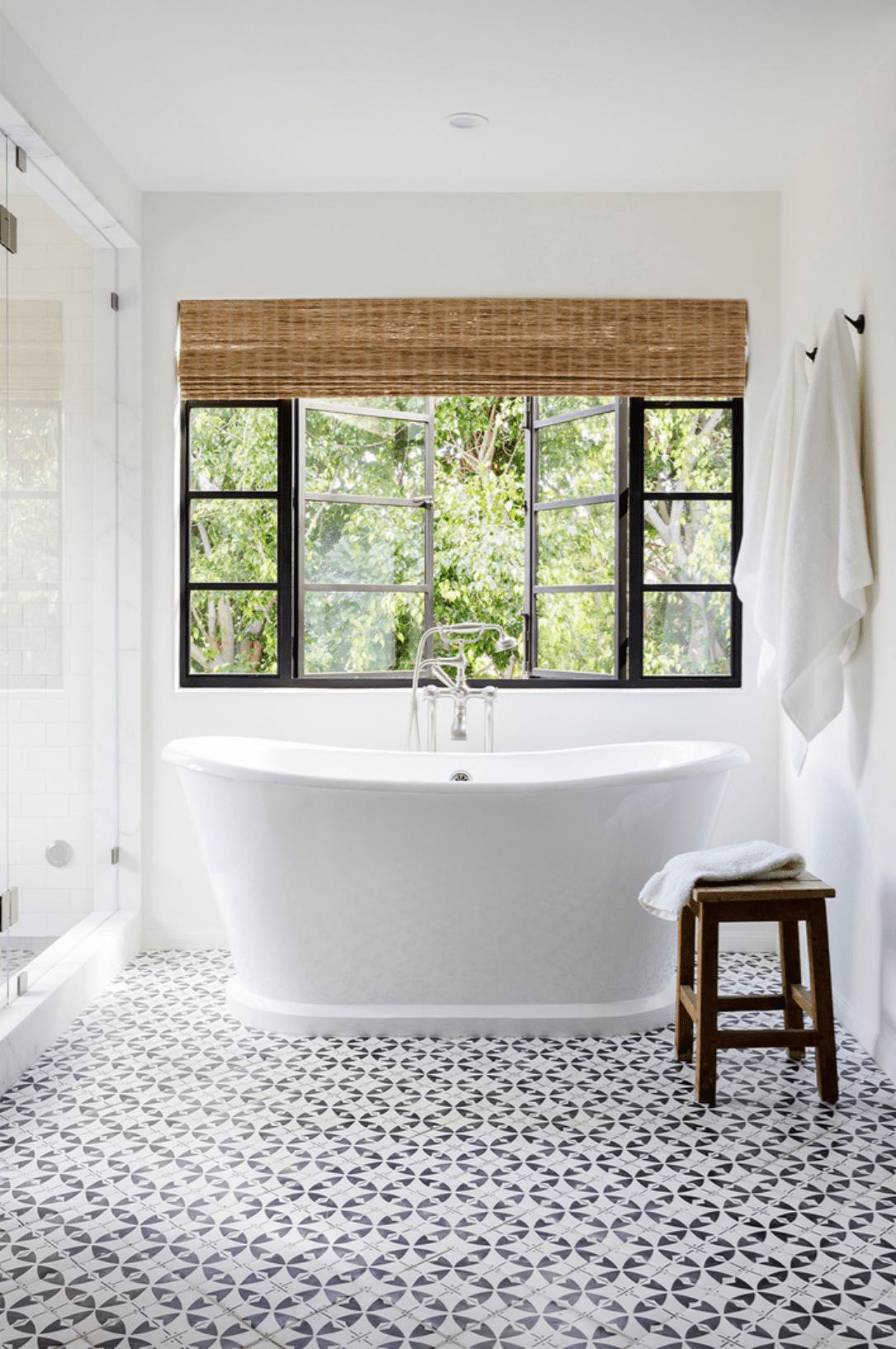 bathroom floor tile ideas for small spaces