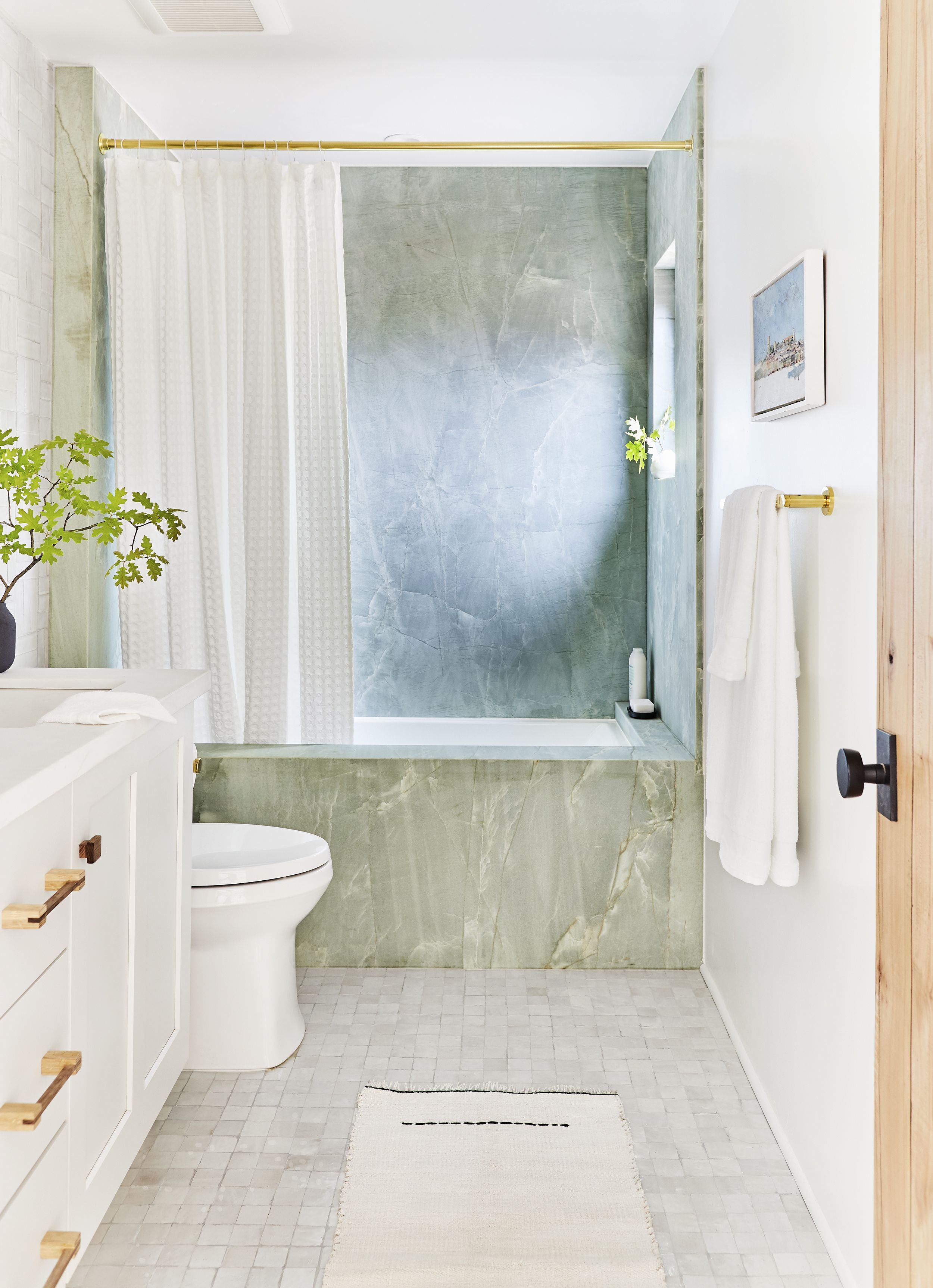 19 gorgeous green bathrooms ideas
