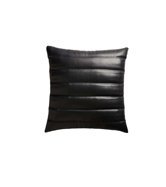 12 leather pillows that make your sofa