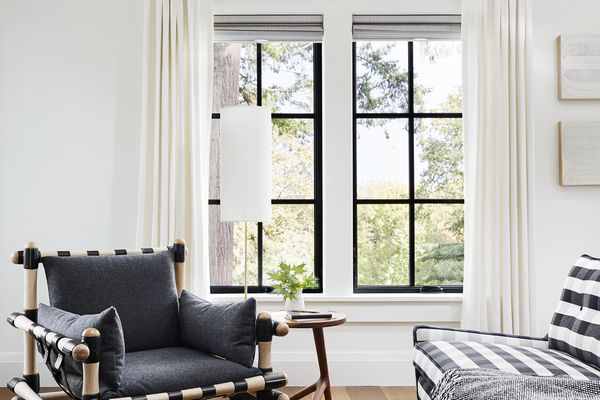 hanging curtains and shades