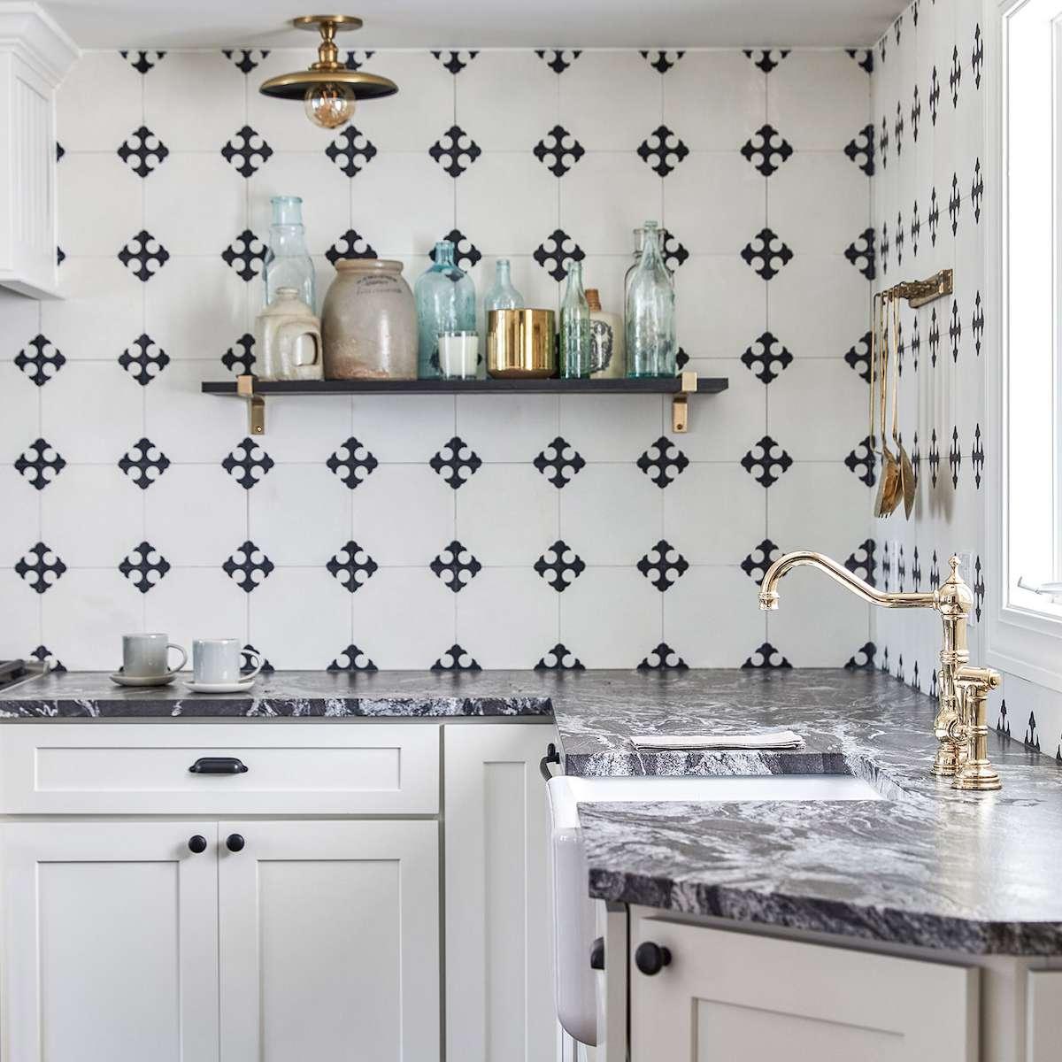 27 unique kitchen backsplash design ideas