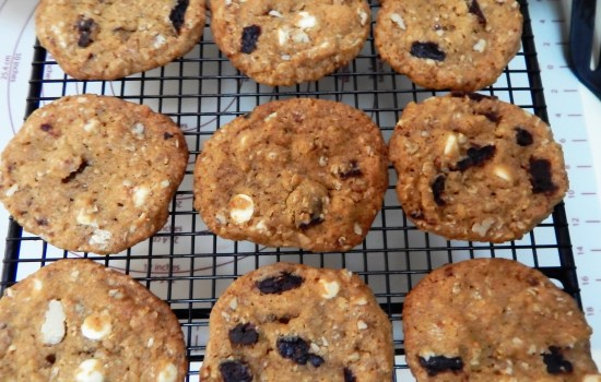 Cherry Chip Oatmeal Cookies