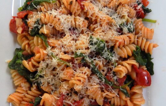 Fire Roasted Tomato Basil Pasta