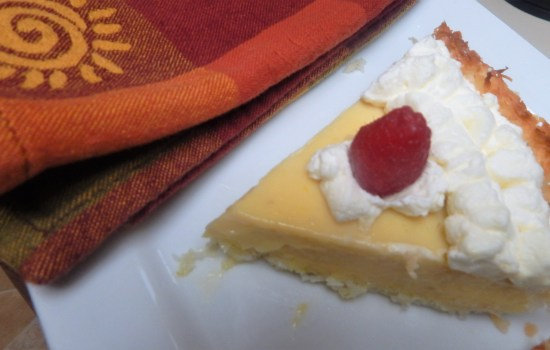 Fabulous Key Lime Pie with Coconut Lime Crust