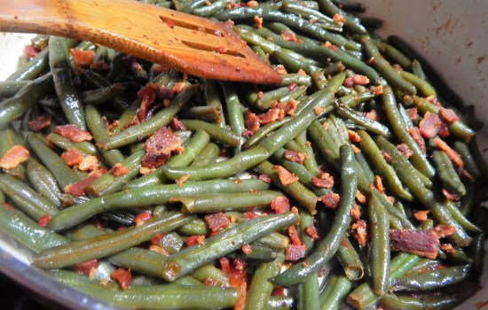 Bacon Dijon Green Beans