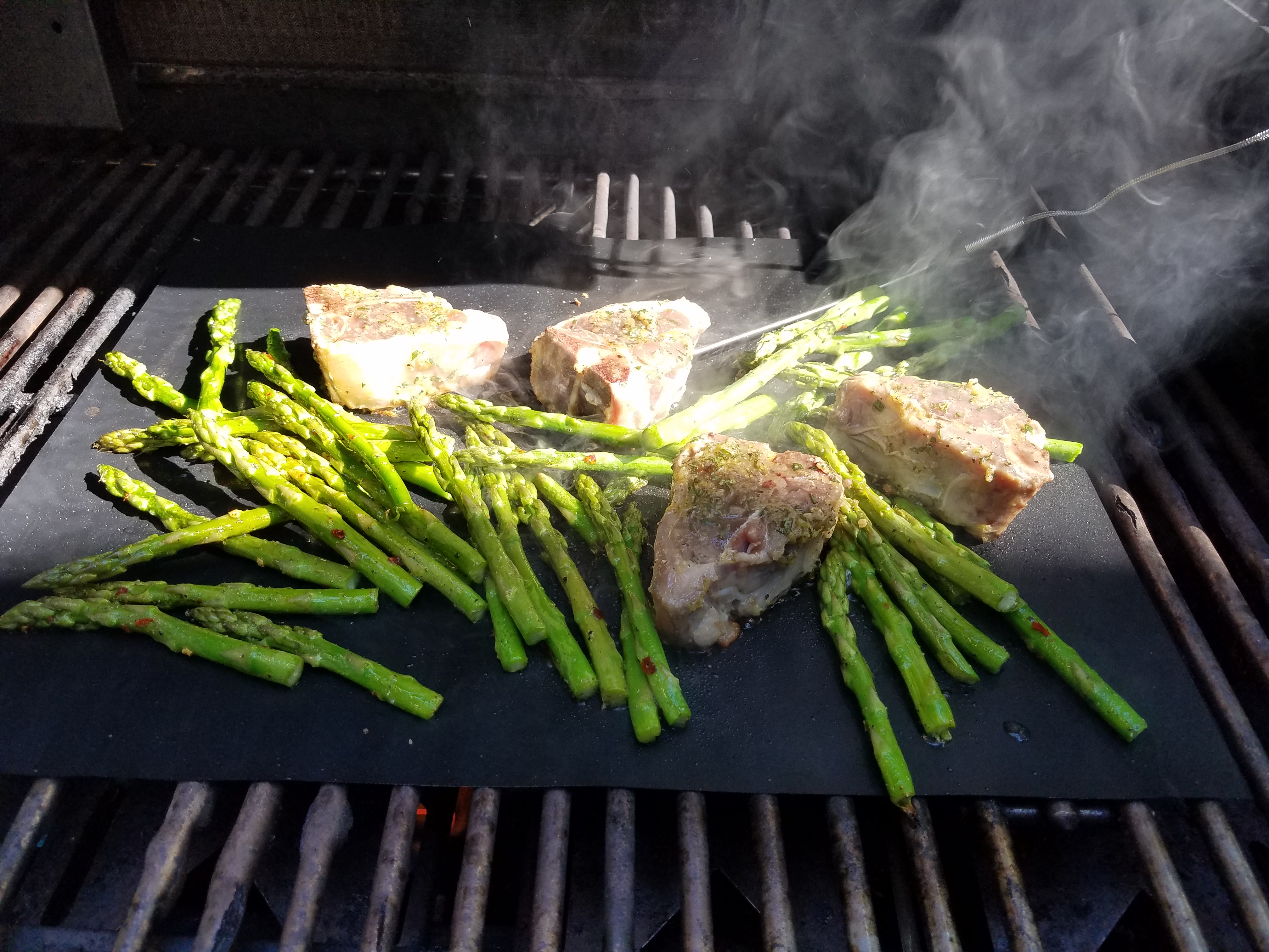 how to make grilled asparagus on bbq