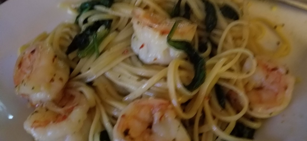 Lemon Shrimp Pasta