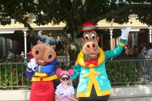 Magic Kingdom, Town Square, Clarabelle Cow, Horace Horsecollar