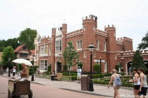 Epcot World Showcase, United Kingdom Pavilion