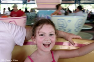 Magic Kingdom, Fantasyland, Mad Hatter's Teacups