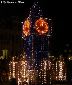 Main Street Electrical Parade, Magic Kingdom, Walt Disney World, Big Ben