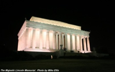 The Lincoln Memorial, Washington, DC, Veterans Day, My Dreams of Disney