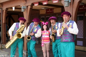 Sophie, Magic Kingdom, Dapper Dans, Fantasyland