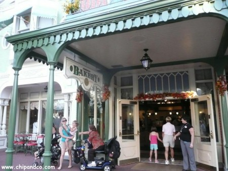Chip and Company, Main Street Bakery, Magic Kingdom, Main Street USA