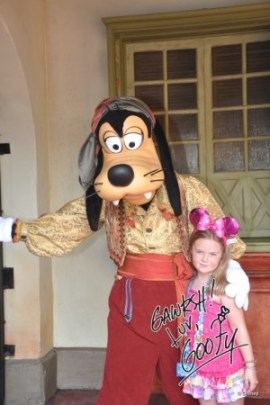 Pirate Goofy, Pirates of the Caribbean, Adventureland, Magic Kingdom